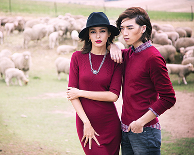 Canifa is the first Vietnamese retailer to gain Woolmark certification. © The Woolmark Company