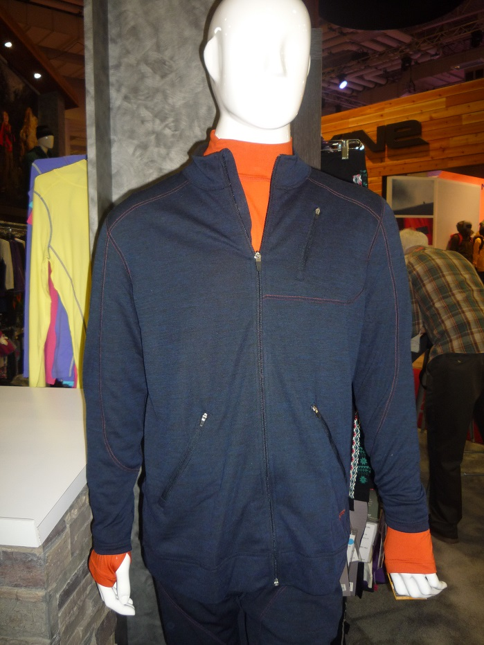 Terramar's denim-look Thermawool knit.