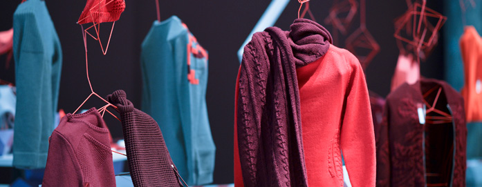 Among its exhibitors this season, Knitwear Solutions welcomes seven new knitters. © Premiere Vision Paris/Knitwear Solutions