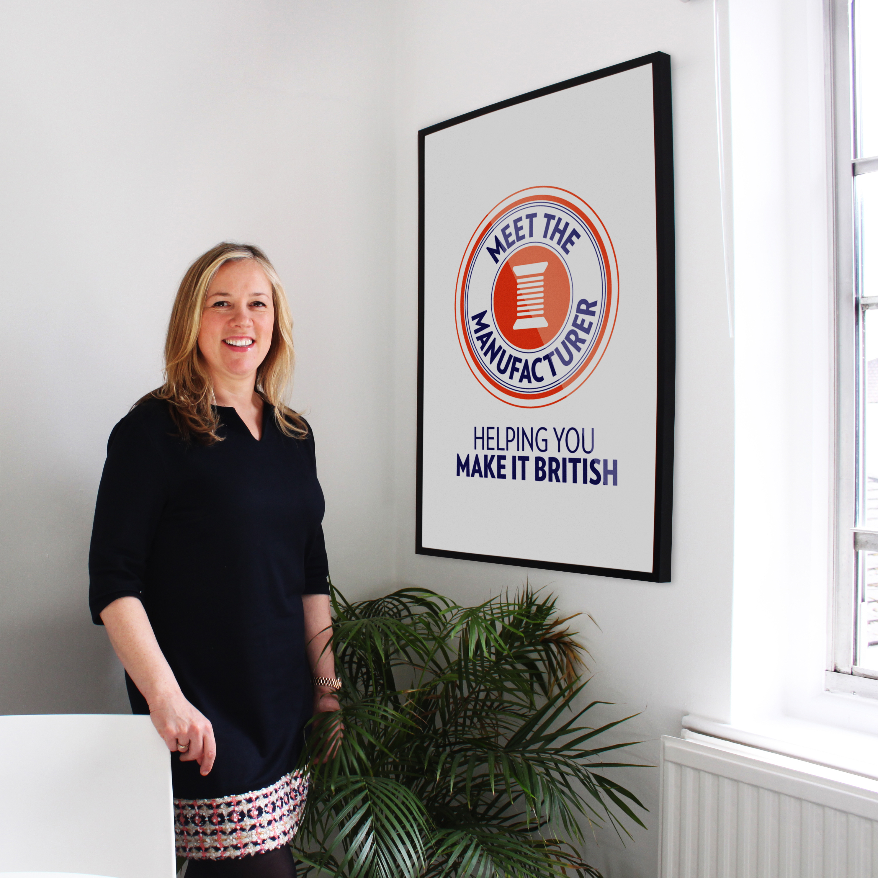 Kate Hills, Founder and CEO of Make it British