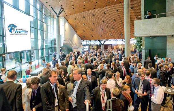 The 54th edition of the Dornbirn Man-Made Fibers Congress will take place from 16-18 September 2015. © Austrian Man-Made Fibers Institute
