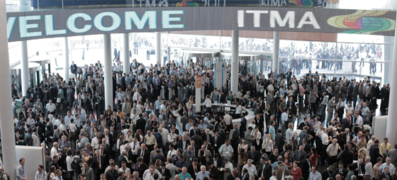 At the exhibition visitors will meet decision makers across the entire value chain in eight days. © ITMA