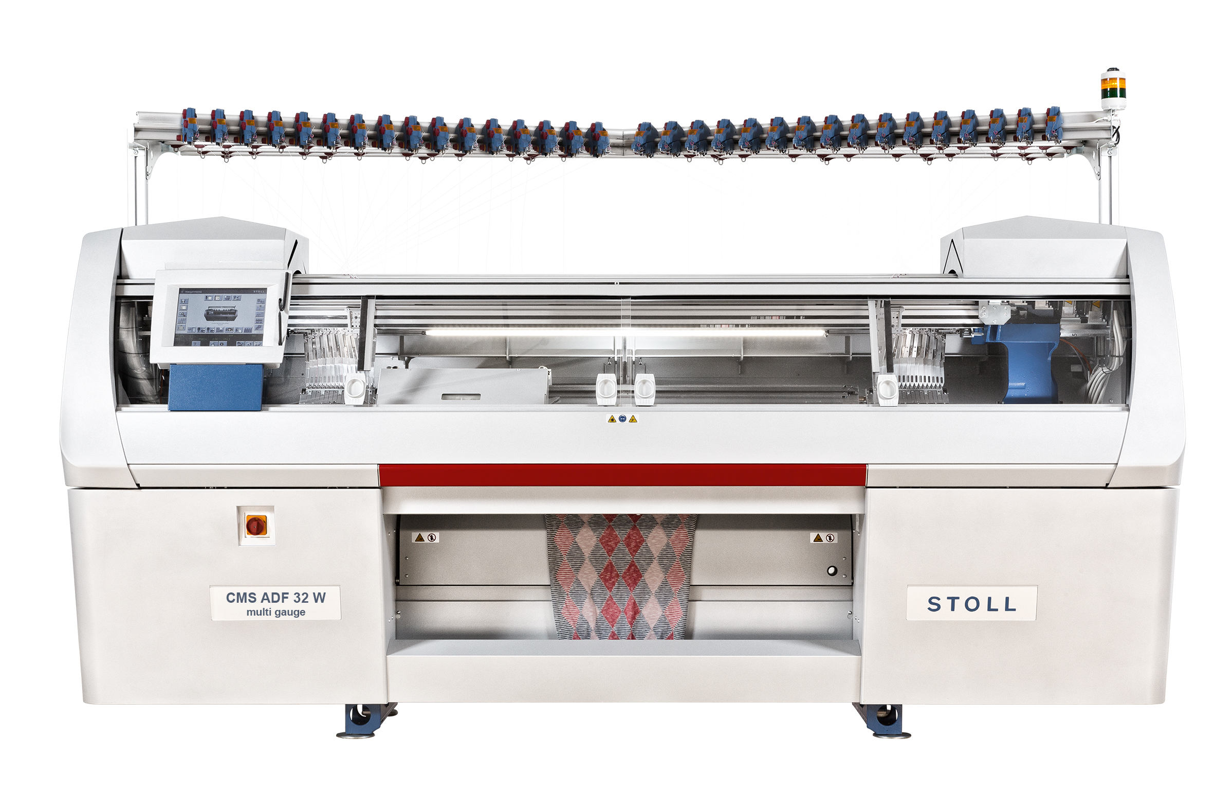 Stoll CMS ADF 32 W multi gauge E 7.2 machine. © Stoll