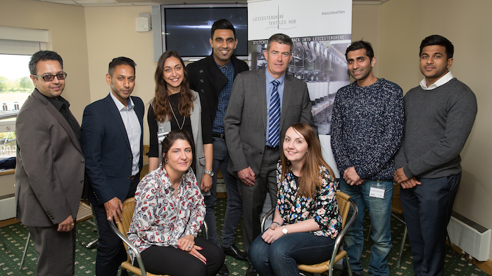 The interactive seminar was attended by a range of city and county firms including Pretty Legs Hosiery, Jack Masters, Djinn, Fashion Manufacturer Ltd, Fashion UK, Basic Premier, Who's Who and Britannia Garment Packaging.