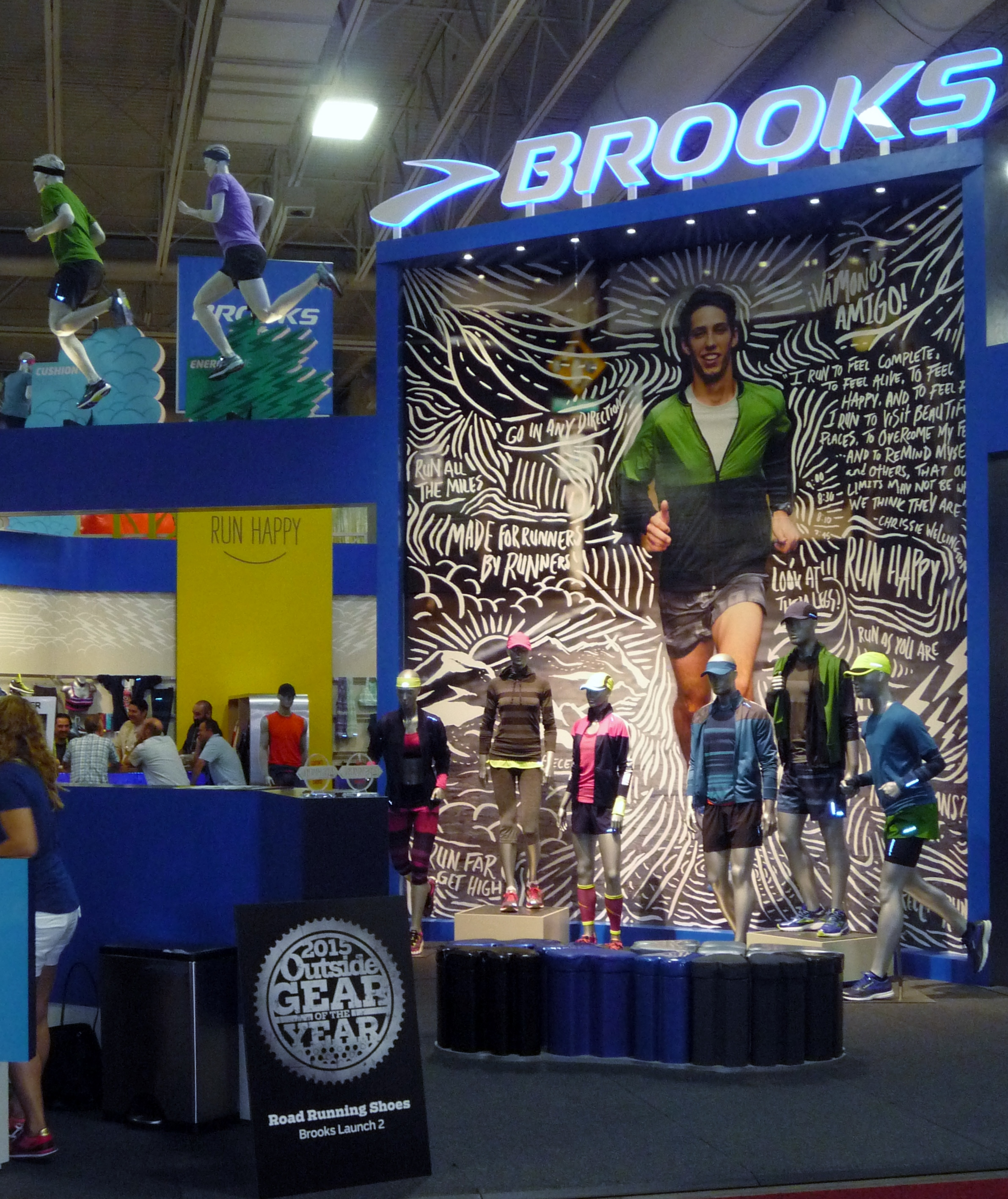 Brooks Running has partnered with Coolcore, the latest cooling technology. © Debra Cobb