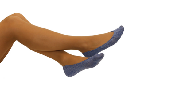 The company used Nilit technology to achieve better comfort, whilst not sacrificing fashion and quality. © Steps Footsocks