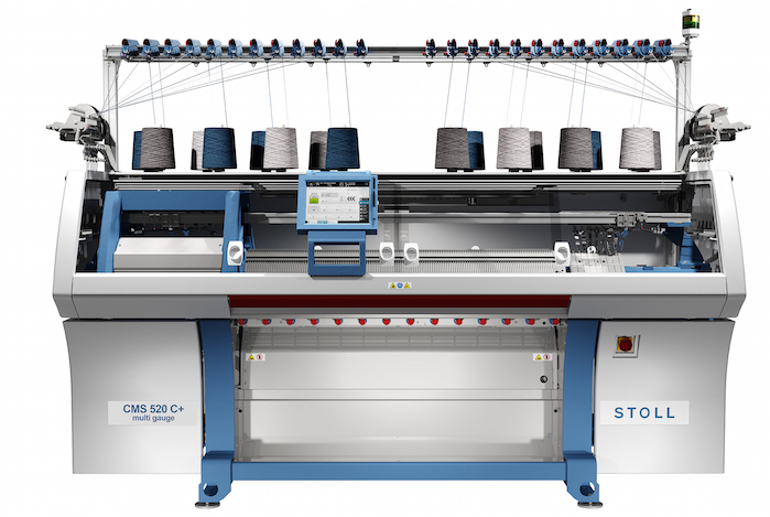 The new Stoll CMS 520 C+.According to the leading German company, numerous innovations within knitted products and knitting technology will deliver individual and flexible solutions for its ambitious clients.