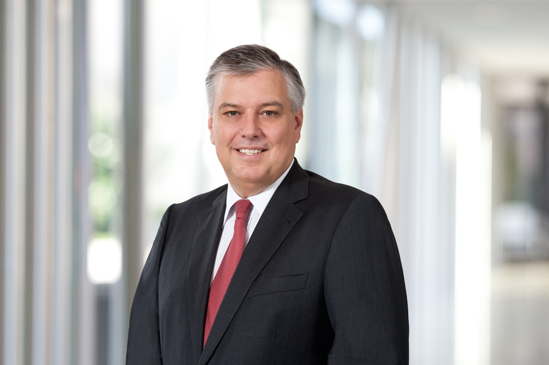 A member of the management board since 2008: Managing Director Eric Schöller