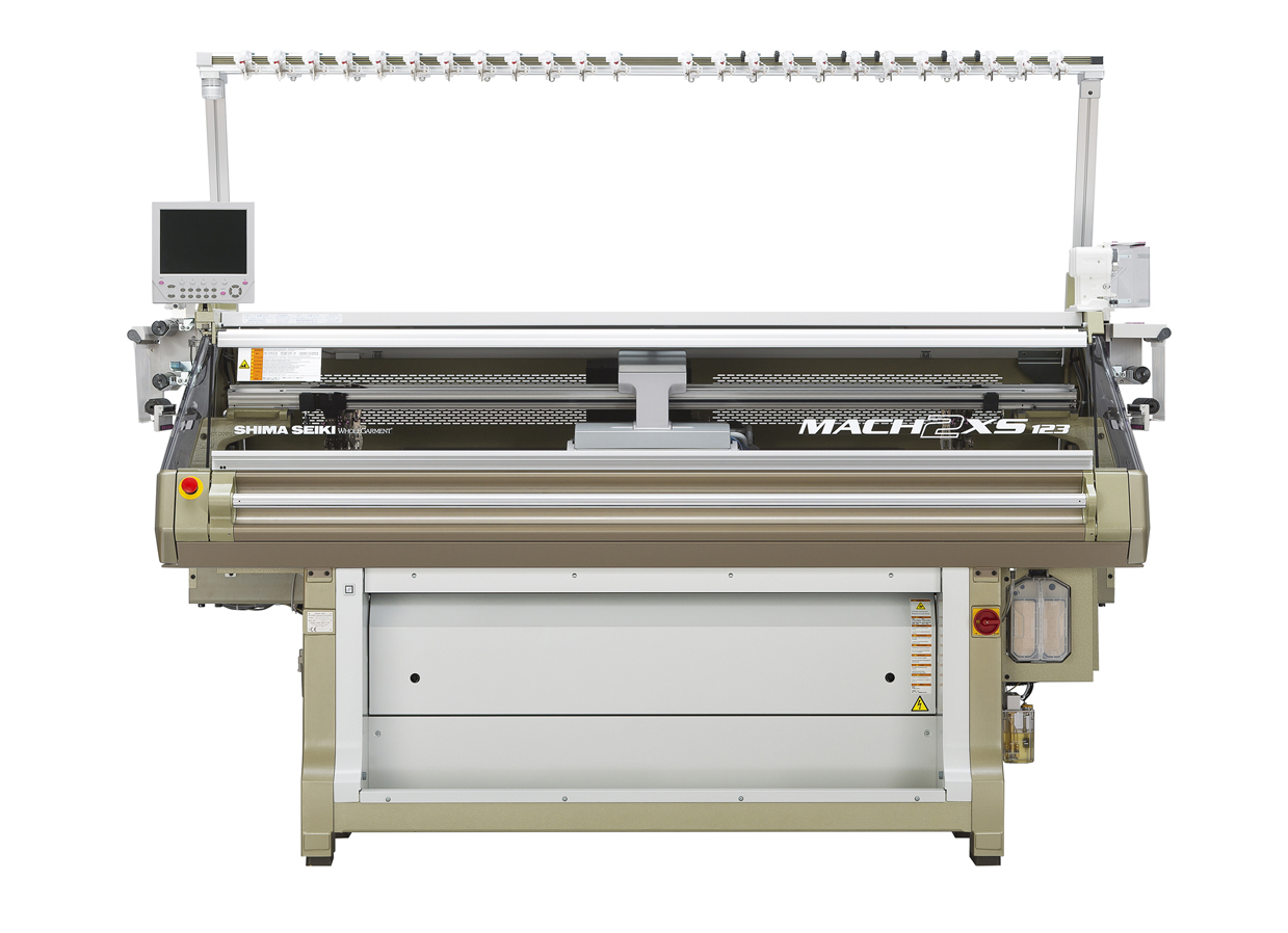 MACH2XS123 WHOLEGARMENT Knitting Machine. © Shima Seiki