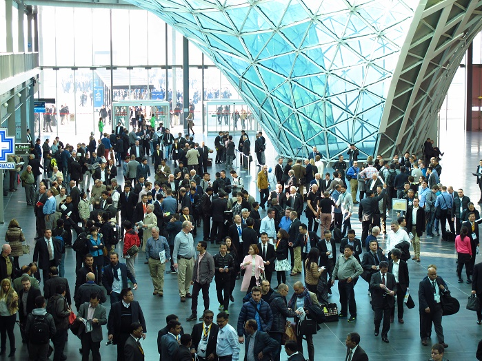 VDMA member companies have given a positive feedback for the ITMA 2015 trade fair that concluded in Milan last month. © VDMA