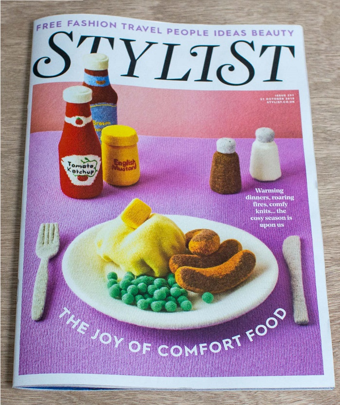 Stylist magazine cover.