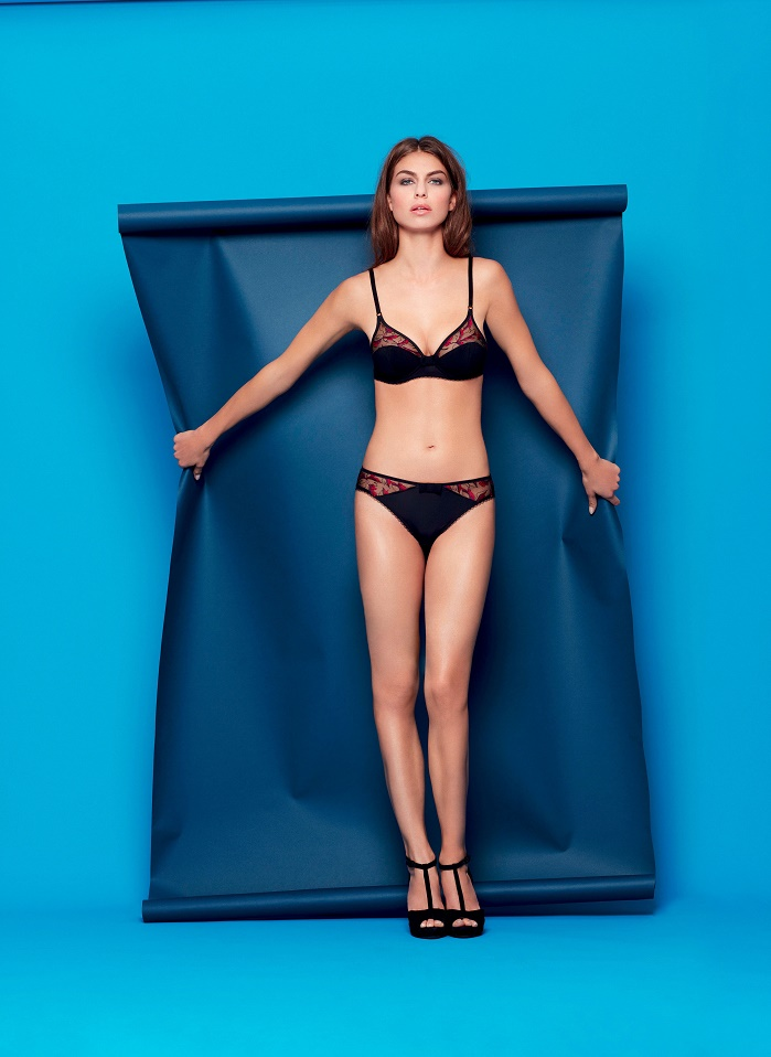 Underwear by Huit with Deep by Ripa fabrics. © Huit/Maglificio Ripa