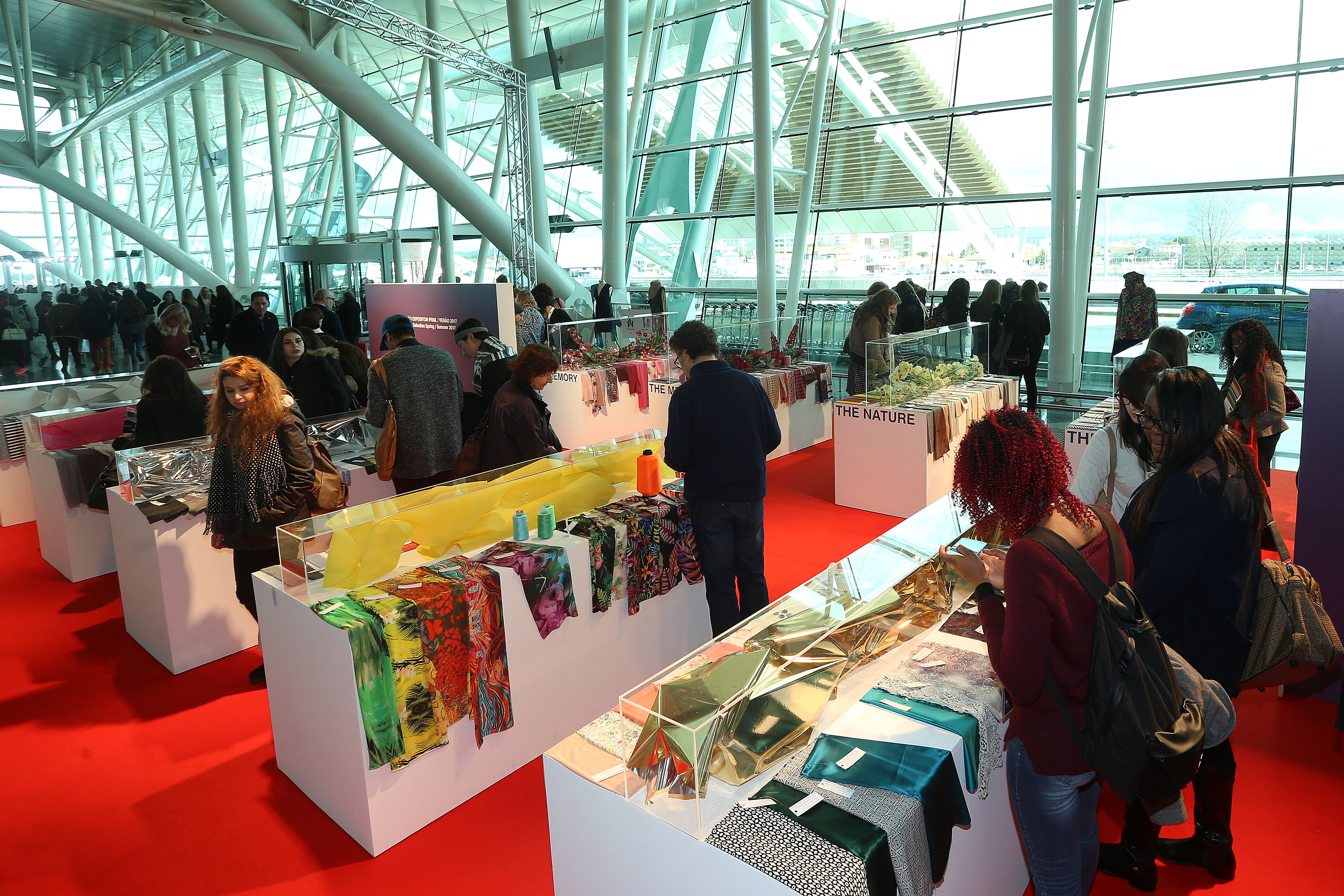 The 47th edition of Modtissimo fashion and textiles trade show was located in Porto's Francisco Sà Carneiro airport from 24-25 February 2016. © Elizia Volkmann