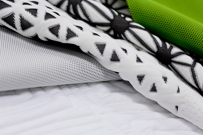 Sport Support bed fabrics. © Creative Ticking