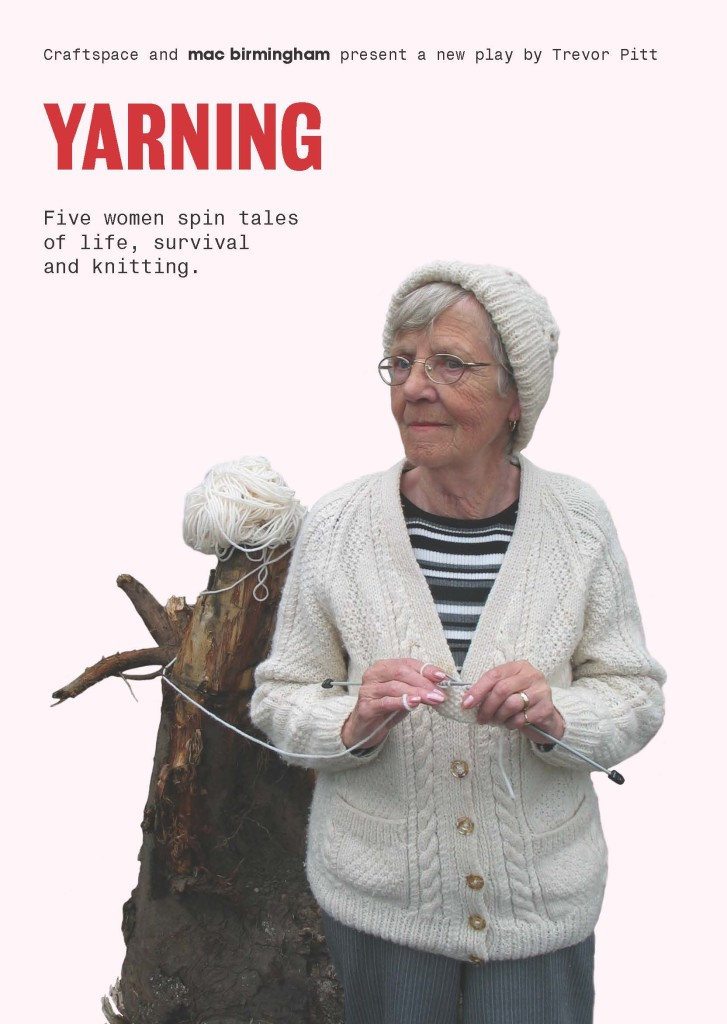 Yarning is a new theatre play that shows the stories of five women and how they grew up with knitting. © Birmingham Mail