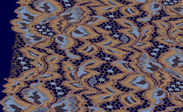 Simulation of TEXTRONIC lace. © Karl Mayer