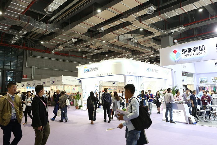 The speciality textile yarn and fibre trade event Yarn Expo Autumn is set to return to Shanghai this October. © Messe Frankfurt / Yarn Expo Autumn edition