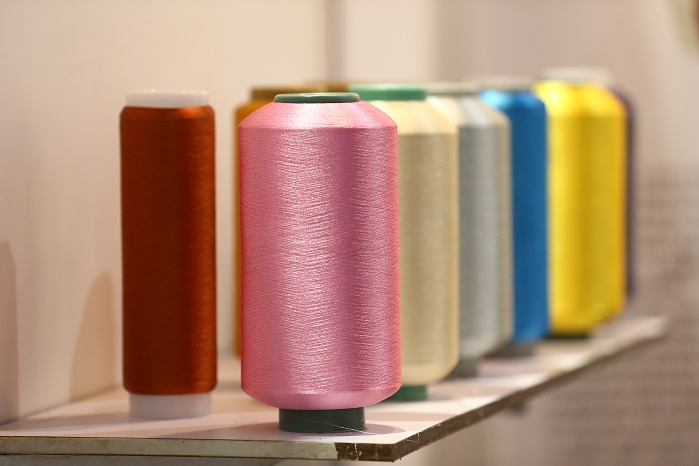 Strong demand for synthetic yarn and fibre products is prevailing in China. © Messe Frankfurt / Yarn Expo Autumn edition