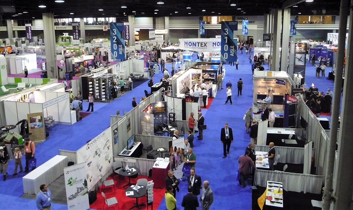 Techtextil/Texprocess 2016 North America finished its three-day Atlanta run on May 5. © Techtextil/Texprocess
