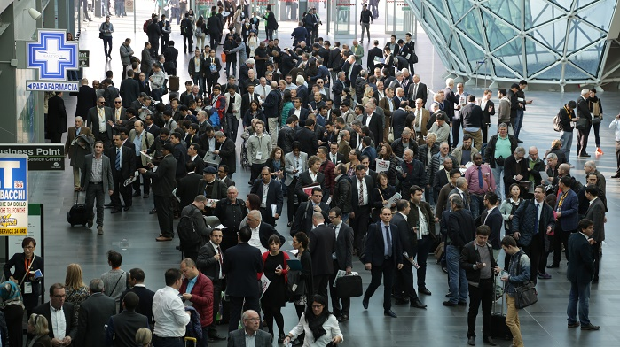 ITMA 2015 proved successful after attracting the biggest number of exhibitors since the show's launch way back in 1951. © ITMA