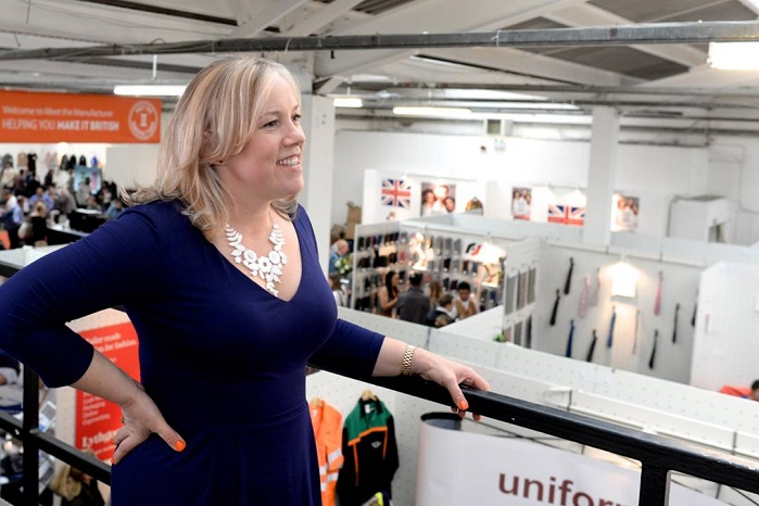 Kate Hills, founder and CEO of Make it British. © Meet the Manufacturer