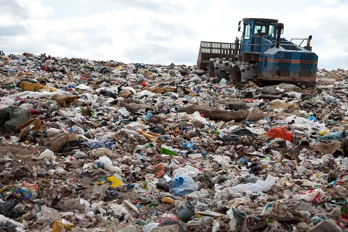 Textile waste in the US comprises 5% of all landfill. © The Renewal Workshop