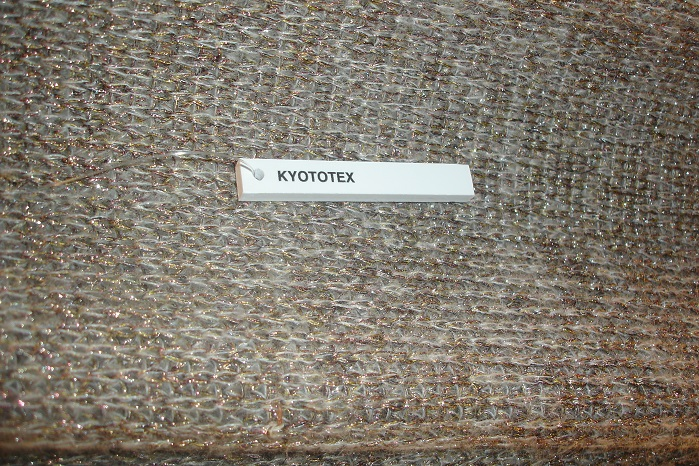 Knitwear sample by Kyototex. © Janet Prescott