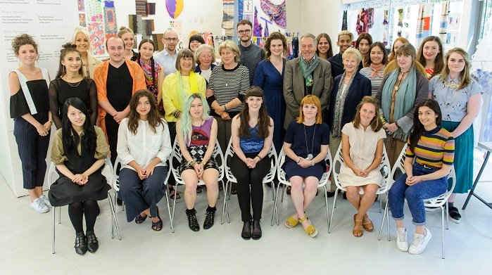 This year's Texprint alumni with the Texprint administration team. © Texprint