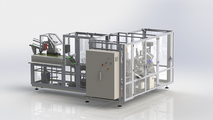 The new high speed IM2–HS folding and bagging machine. © Tinarelli