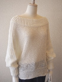 Knitted garment made with Solotex RC fibre. © Teijin
