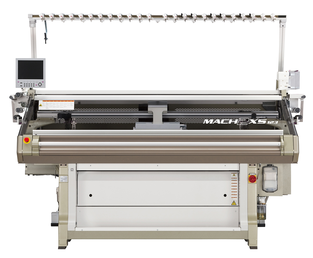 Shima Seiki's flagship WHOLEGARMENT knitting machine, the MACH2XS. (c) Shima Seiki.