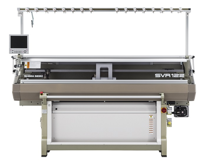 SVR122-SV 14G Computerised flat knitting machine. © Shima Seiki