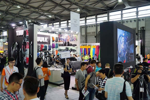 ISPO Shanghai took place for the second time in 2016. © ISPO Shows/ISPO Shanghai