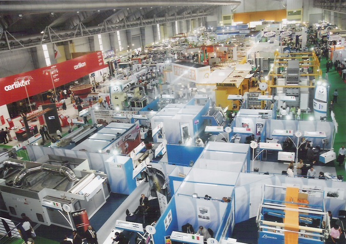 ITME India is the focal event for the textile and textile engineering industry in India, which takes place every four years. © ITME India