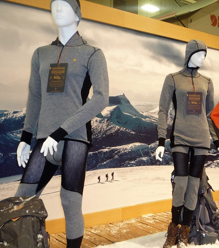 Fjallraven's Bergtagen hybrid wool base layer. © Debra Cobb
