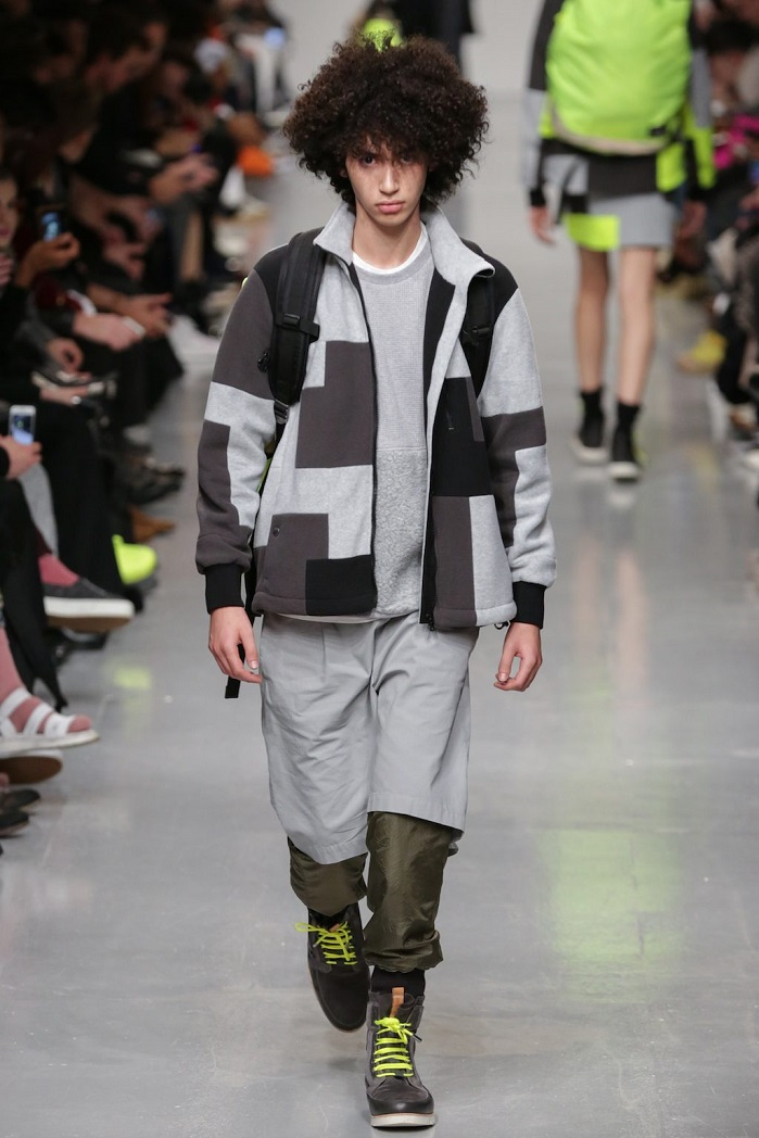 TOPMAN Design and Christopher Raeburn have demonstrated a shift from military wear inspiration to much softer sportswear look. © Christopher Raeburn