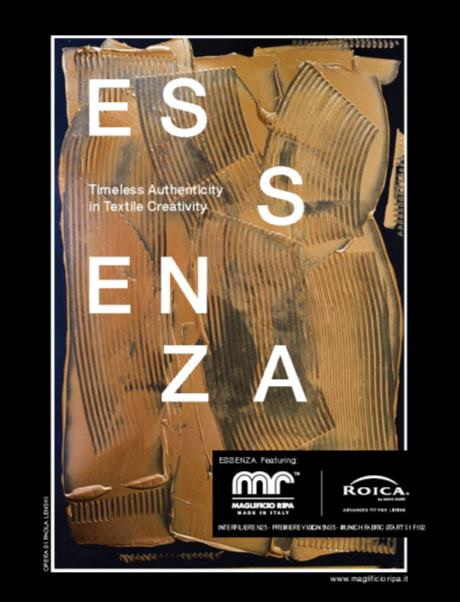 Essenza is the name of the book presenting solutions that could meet the needs of a modern consumer. © Maglificio Ripa