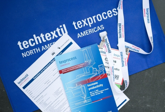 The fourth edition of Texprocess Americas will be co-located with Techtextil North America. © Messe Frankfurt / Texprocess Americas