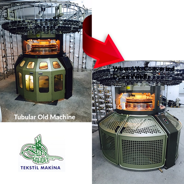 Turkish Specialist Breathes New Life Into Old Circular Knitting Machines