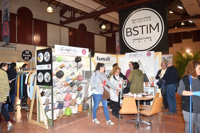 The textile fair BSTIM is the only exhibition for textile production in Spain. © BSTIM