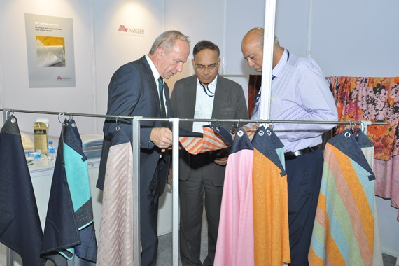 ITS Exhibition aims at meeting industry needs and promotes Gujarat as the Global Textile Sourcing Hub. © ITS Exhibition