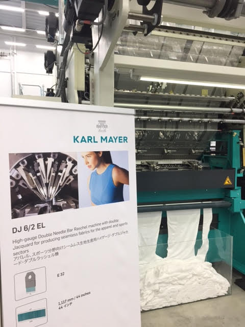 Karl Mayer's DJ 6/2 EL machine on show in Fukui.