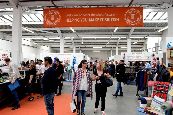 Kate Hills launched Meet the Manufacturer in 2014, a trade show and conference for the UK fashion and textiles industry. © Meet the Manufacturer