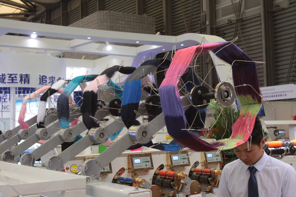 The 18th Shanghai International Textile Machinery Exhibition will take place from 27-30 November 2017 at the Shanghai New International Expo Centre. © ShanghaiTex