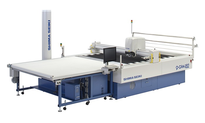 P-CAM182 computerised cutting machine. © Shima Seiki