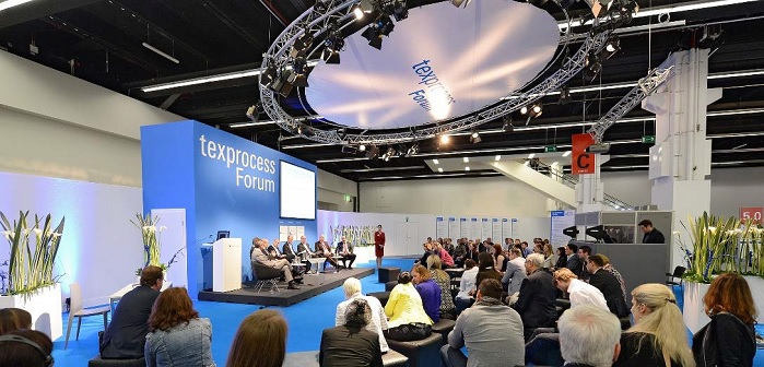 Texprocess Forum provides insights into the latest textile-processing trends.© Messe Frankfurt / Texprocess