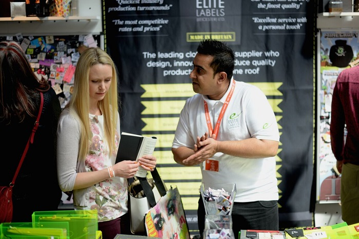 Elite Labels at Meet the Manufacturer event. © Make it British