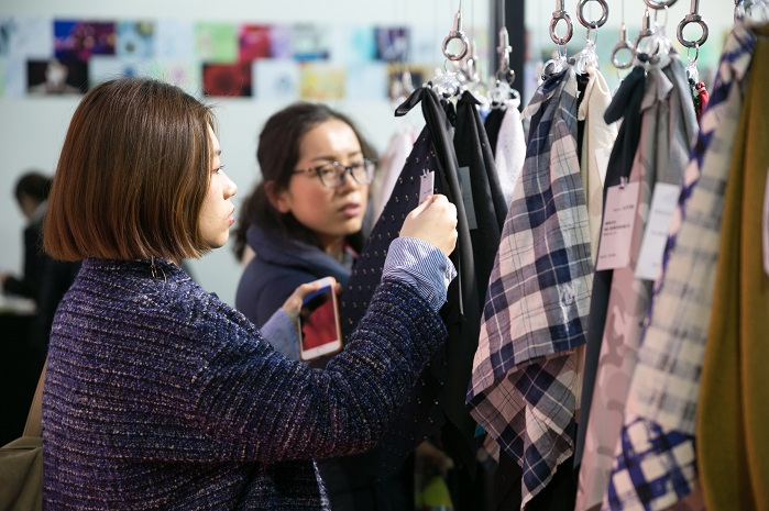 The show welcomed 71,450 visitors from 103 countries and regions. © Messe Frankfurt / Intertextile Shanghai Apparel Fabrics