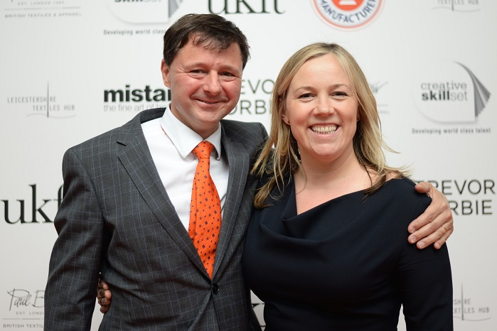 Kate Hills with Christopher Nieper. © Meet the Manufacturer