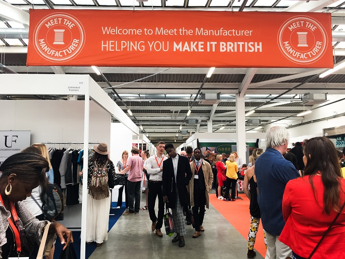 Knitted goods manufacturers and machine producers were out in force at this year's edition of Meet the Manufacturer. © Meet the Manufacturer